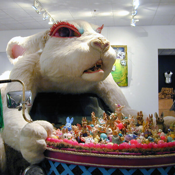 """Rex Rabbit,"" Art car by Larry Fuente"