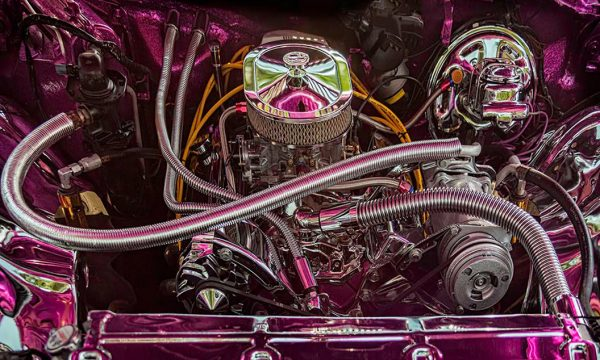 "Irvin Tepper, ""Engine Detail,"" 2015, digital print, 32 x 46"""