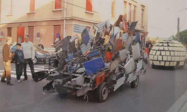 The first french Art Car Parade 2004 in Audincourt, France. Photos by Tom Massimin.
