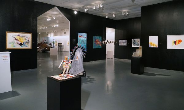"12th Annual Open Call Exhibition, ""Trump THIS!"", installation view at the Art Car Museum, 2017"