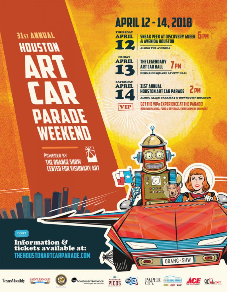 Houston Art Car Parade 2018
