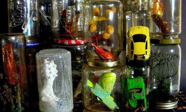 "Nomadic Fungi Institute, ""Roadside Snacks"", mixed media"