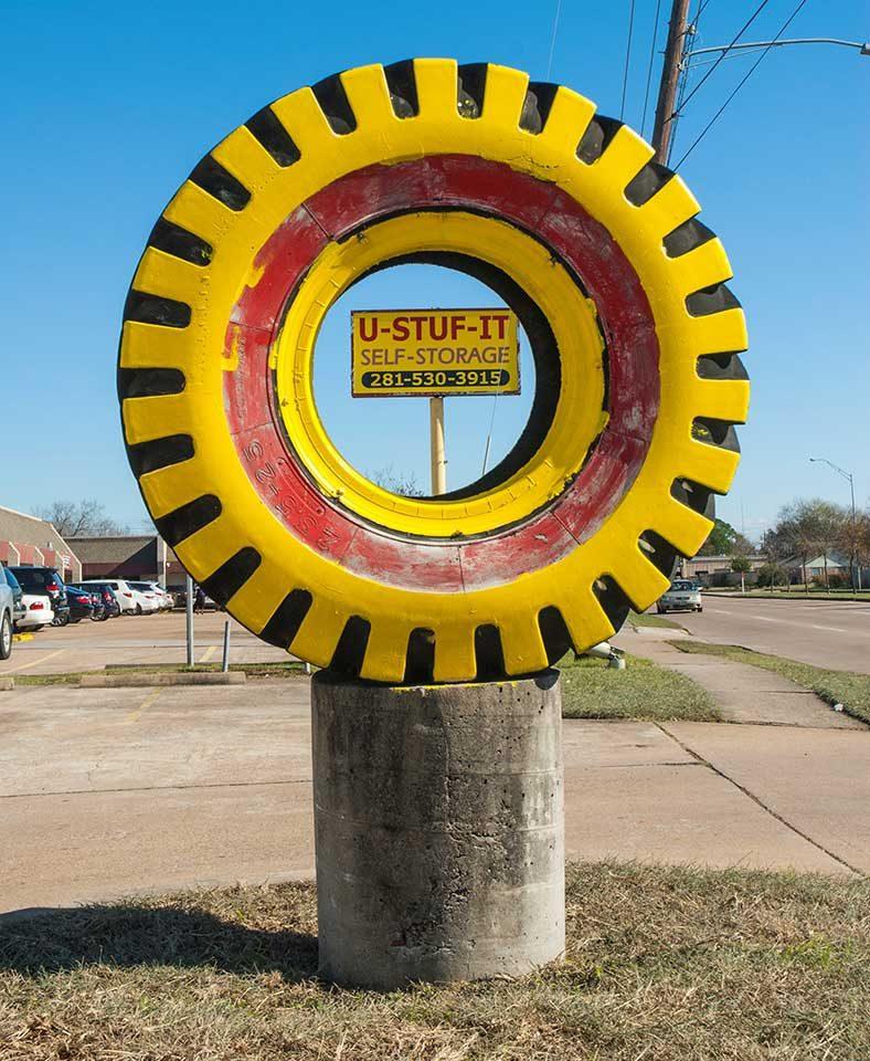 "Robert Cook, ""Painted Tire W. Belfort"", archival digital print"