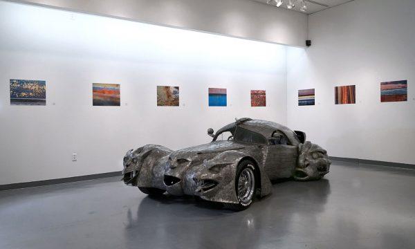 "W.T. Burge, ""Phantoms"": ""Celebration of Art Cars"", 20th Anniversary of the Art Car Museum, installation view, 2018"