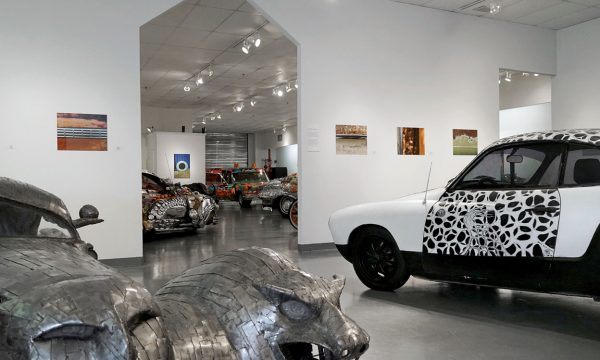 """""""Celebration of Art Cars"""", 20th Anniversary of the Art Car Museum, installation view, 2018"""