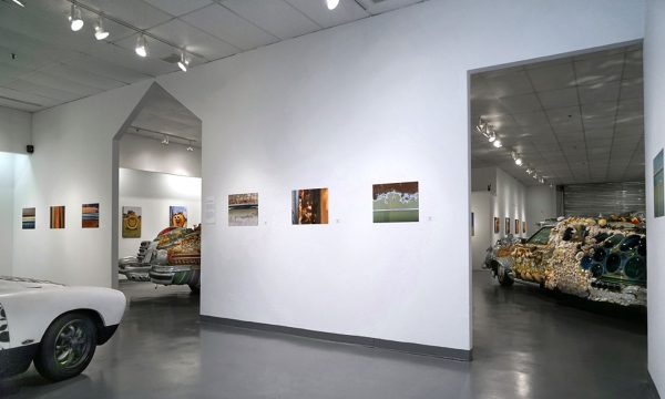 """Celebration of Art Cars"""", 20th Anniversary of the Art Car Museum, installation view, 2018"""