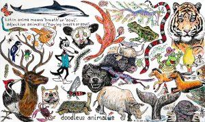 "David Kidd, ""Doodleus Animalus"", 2018"