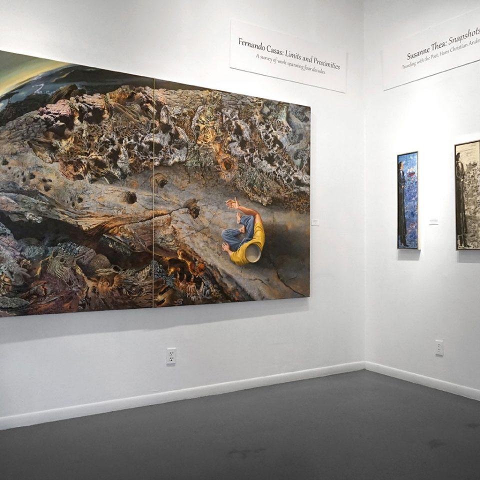 Fernando Casas & Susanne Thea, installation view at the Art Car Museum, 2019