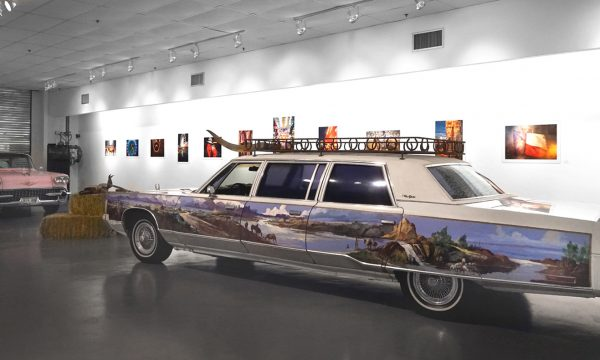 "FOTOFEST 2020, Daniel Kramer: ""GIDDY UP!! A Decade of Documenting the Houston Rodeo,"" Installation view at the Art Car Museum, Houston, TX, 2020"